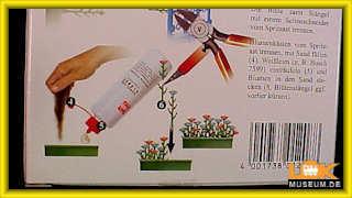 Spur H0 Busch 1208 Blumenkasten-Set