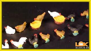 Preiser 14168 H0 Hühner und Hähne