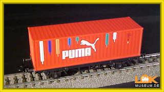 Märklin 44811 Containerwagen PUMA Onlineshop