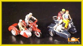 NOCH 15905 H0 Motorradfahrer