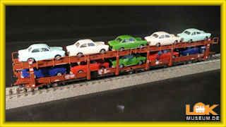 Roco 76458 Güterwagen Autotransportwagen Laes 543 DB H0