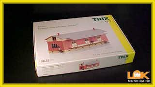 Trix H0 66383 Fachwerk-Güterschuppen Sulzdorf